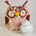 Сова Набор для создания грелки на чайник своими руками