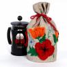 Маковое поле Набор для создания грелки на чайник своими руками ПГЧ-1107