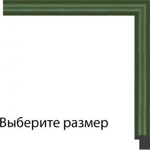Выберите размер Зеленая Рамка для картины на картоне N156