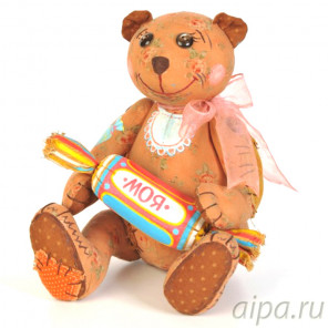 Мишка - сладкоежка Набор для создания игрушки своими руками