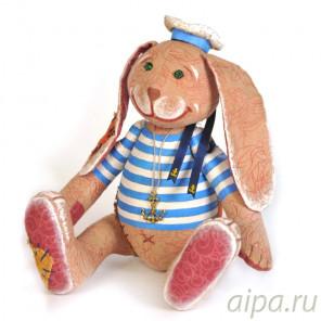 Заяц - повелитель морей Набор для создания игрушки своими руками