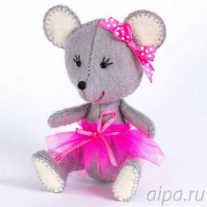 Мышка Набор для создания игрушки своими руками