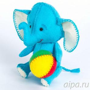 Слоник Набор для создания игрушки своими руками