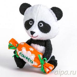 Панда Набор для создания игрушки своими руками