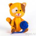 Котенок Рыжик Набор для создания игрушки своими руками