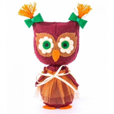 Совушка Набор для создания игрушки своими руками