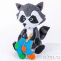 Крошка Енот Набор для создания игрушки своими руками