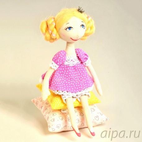 Принцесса на горошине Набор для создания игрушки своими руками