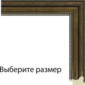 Выберите размер Омега ( имитация шпона) Рамка для картины на картоне N153