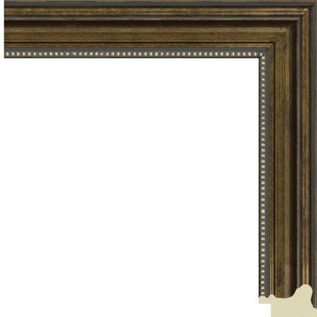 Омега ( имитация шпона) Рамка для картины на картоне N153
