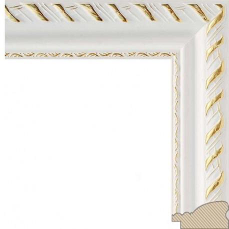 Constance (белый) Рамка багетная универсальная для картины