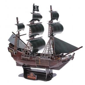 Корабль Черная жемчужина 3D Пазлы Zilipoo B568-10