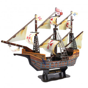 Корабль Санта-Мария 3D Пазлы Zilipoo H-104