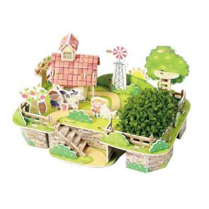 Моя чудесная ферма 3D Пазлы Zilipoo M-012