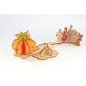 Репка 3D Пазлы деревянные Woody WI-00129
