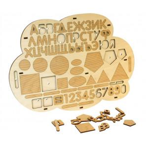 Облако Дидактический набор деревянный Woody WI-00105