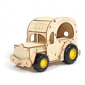 Фургон Крем-брюле 3D Пазлы деревянные Woody WI-00723