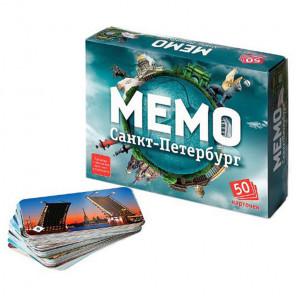 Санкт-Петербург Настольная игра Мемо 7201