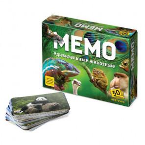 Удивительные животные Настольная игра Мемо 7207
