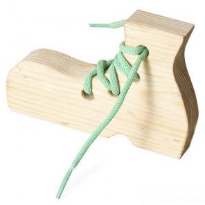 Ботинок Шнуровка деревянная 7730