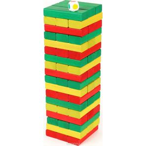 Цветная башня с кубиком 7794