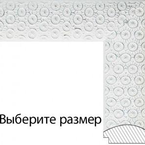 Выберите размер Sandra Серебряная Рамка багетная для картины на подрамнике или на картоне