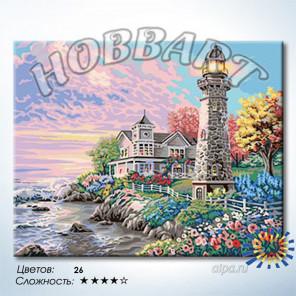 Количество цветов и сложность Мыс доброй надежды Раскраска по номерам на холсте Hobbart HB4050325-Lite