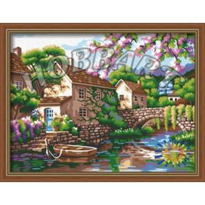 Причал надежды Раскраска картина по номерам акриловыми красками на холсте Hobbart