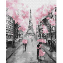Гламурный Париж Раскраска по номерам на холсте Z-GX22055