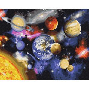 Парад планет Раскраска по номерам на холсте Z-GX22268