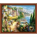 Италия Раскраска по номерам на холсте Hobbart