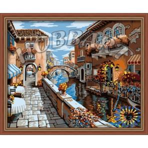 Цветущая старина Раскраска картина по номерам акриловыми красками на холсте Hobbart