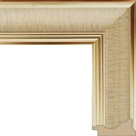 Stella Золотая Рамка багетная для картины на подрамнике или на картоне