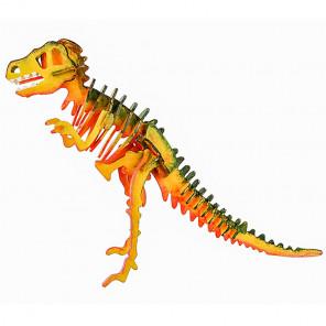Т-Рекс 3D Пазлы деревянные с красками Robotime HC201