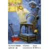 Количество цветов и сложность Ангелок у окна Раскраска картина по номерам на холсте ЕX6226