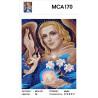 Характеристики Архангел Гавриил Раскраска картина по номерам на холсте МСА170