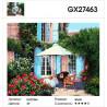 Характеристики Цветущий садик Раскраска картина по номерам на холсте GX27463