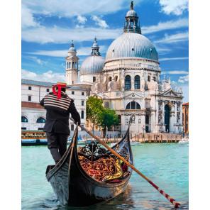 Венецианский гондольер Алмазная вышивка мозаика Алмазная живопись АЖ-1719