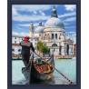 В рамке Венецианский гондольер Алмазная вышивка мозаика Алмазная живопись АЖ-1719