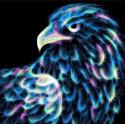 Неоновый орел Алмазная вышивка мозаика Алмазная живопись