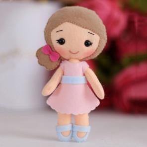 Красивая коробка Малышка Полина Набор для создания игрушки своими руками Тутти 05-48