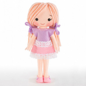 Куколка Лика Набор для создания игрушки своими руками Тутти 01-17