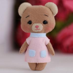 Медвежонок Джилл Набор для создания игрушки своими руками Тутти 05-44