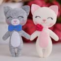 Котята Снежок и Том Набор для создания игрушки своими руками Тутти 05-45