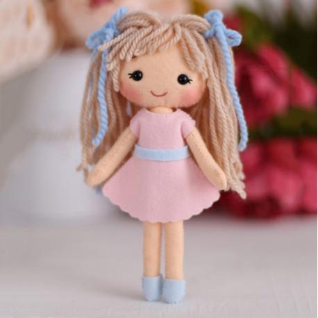Куколка Аня Набор для создания игрушки своими руками Тутти 05-46