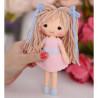 В руке Куколка Аня Набор для создания игрушки своими руками Тутти 05-46
