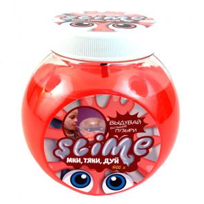 Прозрачный + красный Слайм 500 г Slime Mega Mix