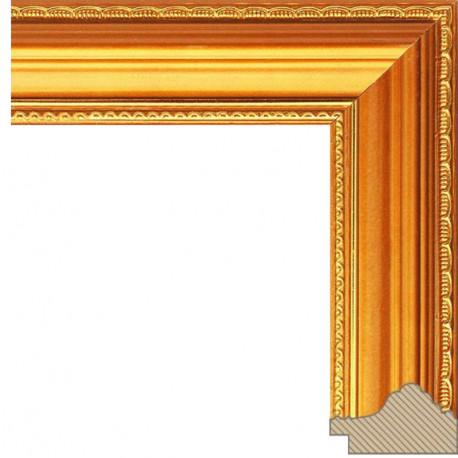 Nicole Золотая Рамка багетная для картины на подрамнике и на картоне