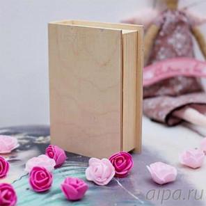 Книжка Шкатулка деревянная ШК001712