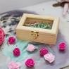 Коллекционер со стеклом Шкатулка деревянная ШС001510
